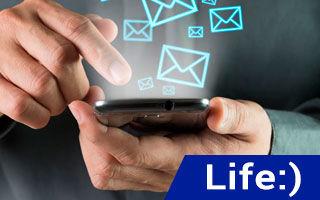 Как добавить SMS на Лайф